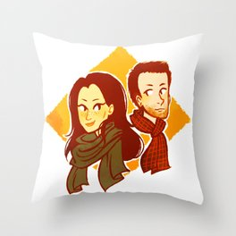 elementary, my dear watson Throw Pillow