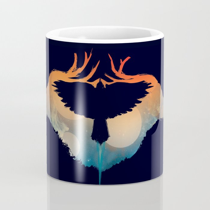 Night sky over savanna Coffee Mug