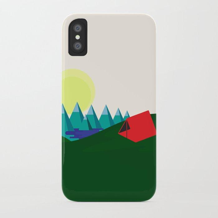 Camping is fun! iPhone Case