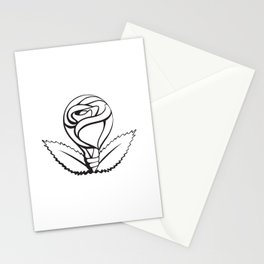 Through Rosy Glass Stationery Cards
