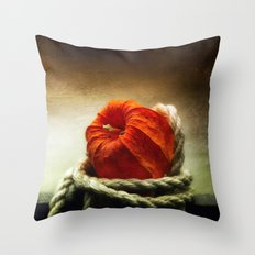 Tangled Season Throw Pillow