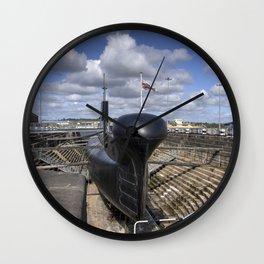 HMS Ocelot Wall Clock