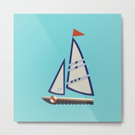 Sailboat I Metal Print