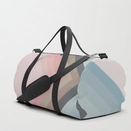 Pastel Pyramids Duffle Bag