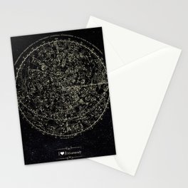 Astronomy Constellations Vintage Map Stationery Cards
