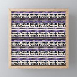 A Teenage Fanclub Framed Mini Art Print