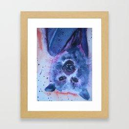 Beautiful Bat Framed Art Print