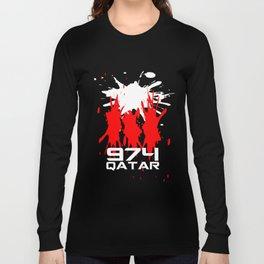 Qatar Code Long Sleeve T-shirt