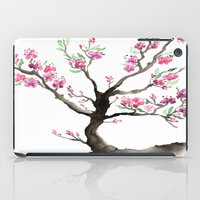 sakura iPad Cases featuring Sakura by Brazen Edwards