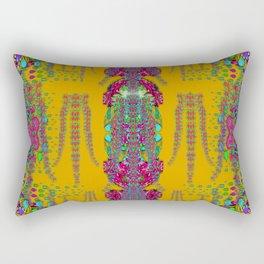 rainy day to cherish  in the eyes of the beholder Rectangular Pillow