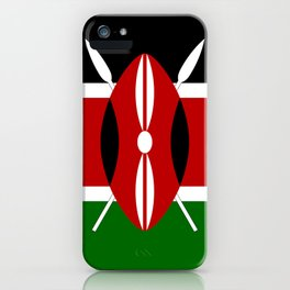 Flag of Kenya iPhone Case