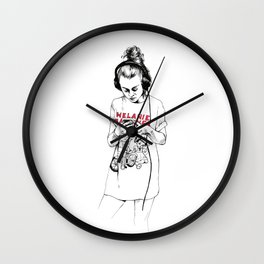 AM Wall Clock