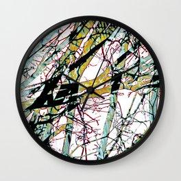CRACKED CHINA Wall Clock