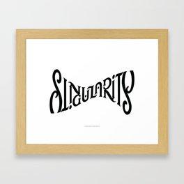 Singularity Framed Art Print