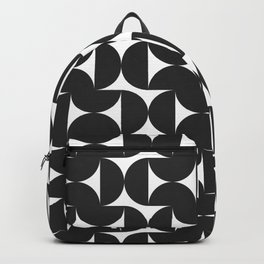 Simple Shapes in Black and White Backpack