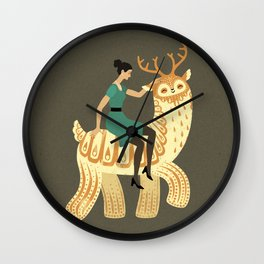 To the Party! Wall Clock