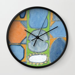 The Mirror Wall Clock