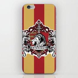 Gryffindor Color iPhone Skin