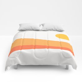 Geometric Landscape 22 Day Comforters
