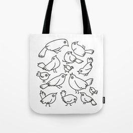 Bird Mania Tote Bag