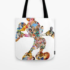 Mickey Mouse Silhouette  Tote Bag