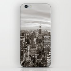 New York City Skyline and the Empire State Building iPhone & iPod Skin