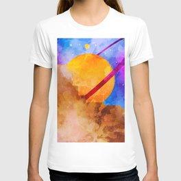 Saturn Crashed T-shirt
