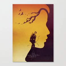 The Hunger Games Canvas Print
