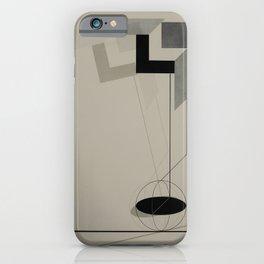 El Lissitzky - Kestnermappe Proun, Rob. Levnis and Chapman GmbH Hannover #2 (1923) iPhone Case