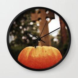 October spirit Wall Clock