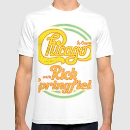 CHICAGO THE BAND, RICK SPRINGFIELD TOUR 2020 T-shirt