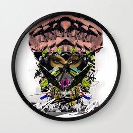 Kim K Art Collage Wall Clock