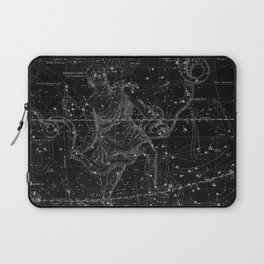 Celestial Map print from 1822 Laptop Sleeve