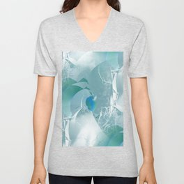 Abstract with hints of natural Unisex V-Neck