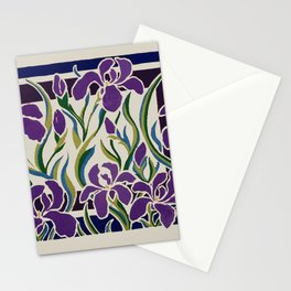 Irises Stationery Cards