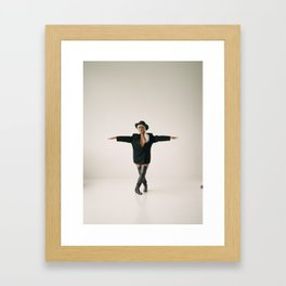 Part of me is breaking Framed Art Print