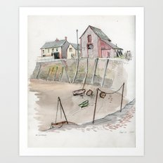 Minehead Art Print