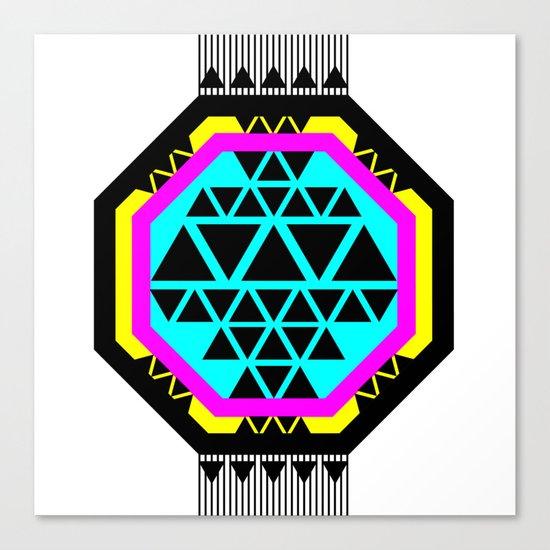 ::: Octagonal ::: Canvas Print