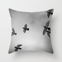 Doves III Throw Pillow