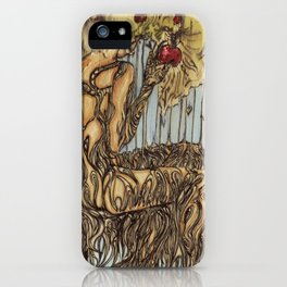 Her Rooted Soul iPhone Case