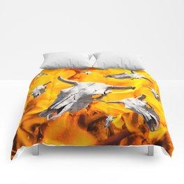 Cow skull Comforters
