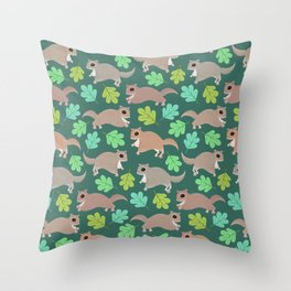 Southern Flying Squirrels Throw Pillow