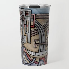 There Was A Crooked Man Who Wore A Crooked Bluetooth Travel Mug