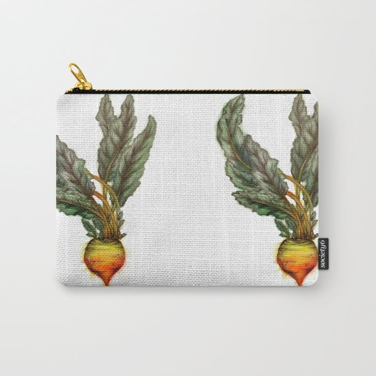 Rooted: The Golden Beet Carry-All Pouch