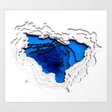 Water Portal I Art Print