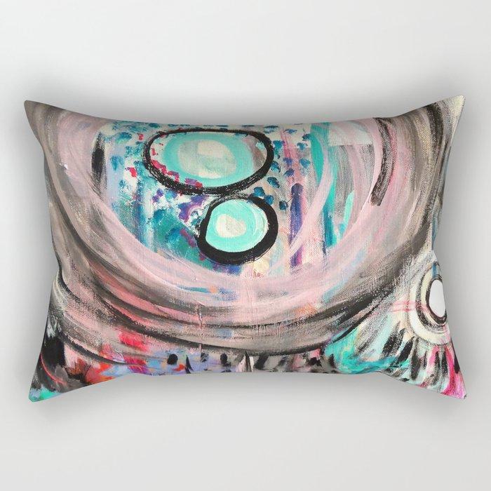 Jungle Rain Rectangular Pillow