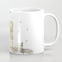 Winter - Inspiration of Elsa Beskow Coffee Mug