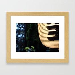 Hozenji Lane  Framed Art Print