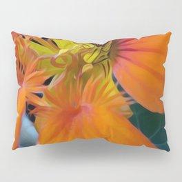 Libi's Nasturtiums Pillow Sham