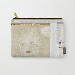 Pretty on the Inside Carry-All Pouch